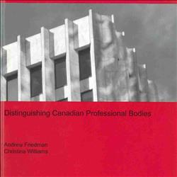 Distinguishing Canadian Professional Bodies